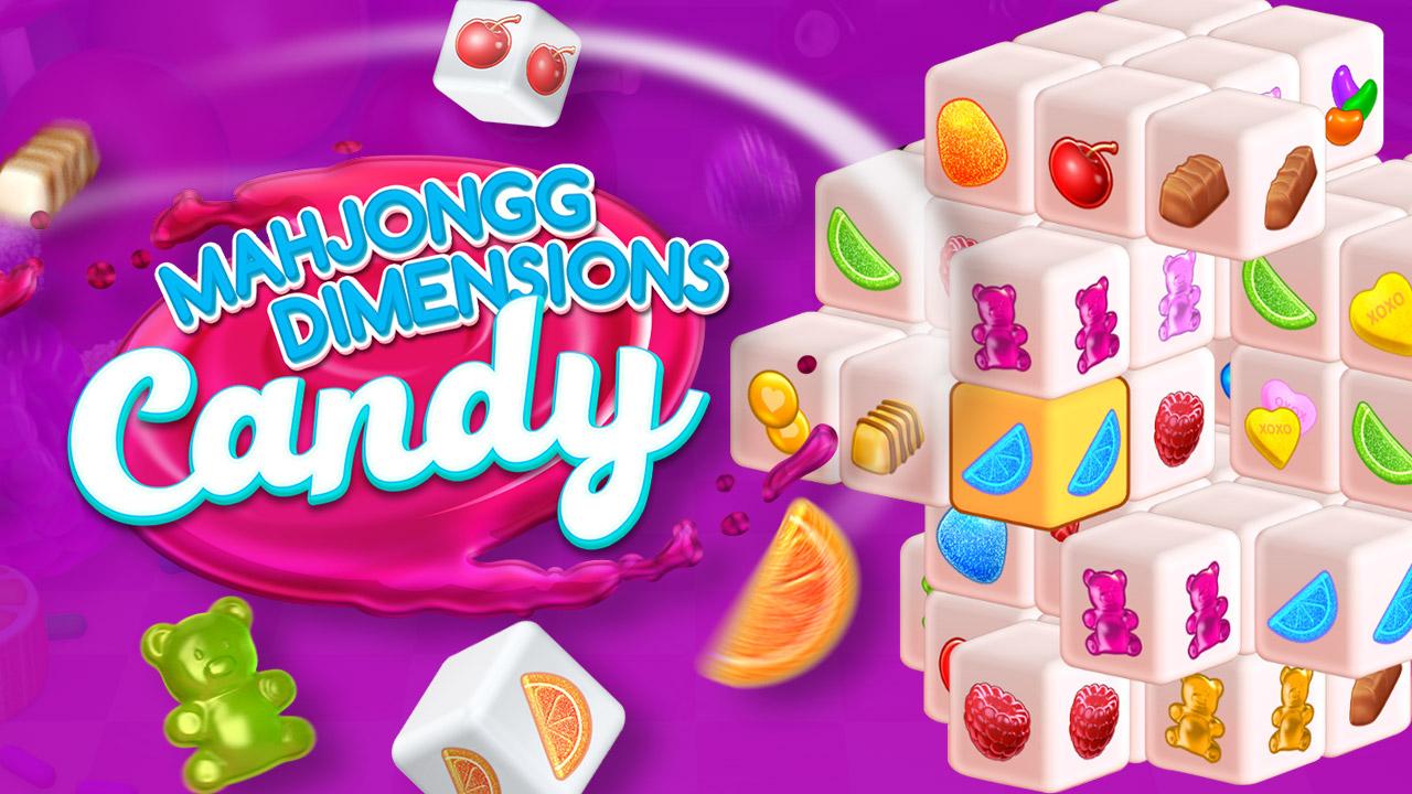 Mahjongg Dimensions Candy 640 seconds